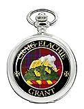 Grant Gaelic - Orologio da tasca con stemma del clan scozzese