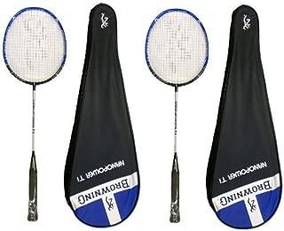 Browning Nanolite Rose Ti Raquette De Badminton