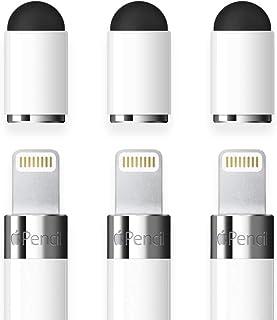 FRTMA [2 في 1] غطاء بديل متوافق مع قلم رصاص/يستخدم كقلم لكافة الأجهزة اللوحية التي تعمل باللمس/الهواتف المحمولة (عبوة من 3...