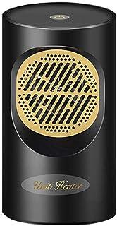 DWLINA Mini Calentadores Eléctricos Hogar Calefactor Dormitorio Calentador De Escritorio Ventilador De Refrigeración-Negro,Black,Touch