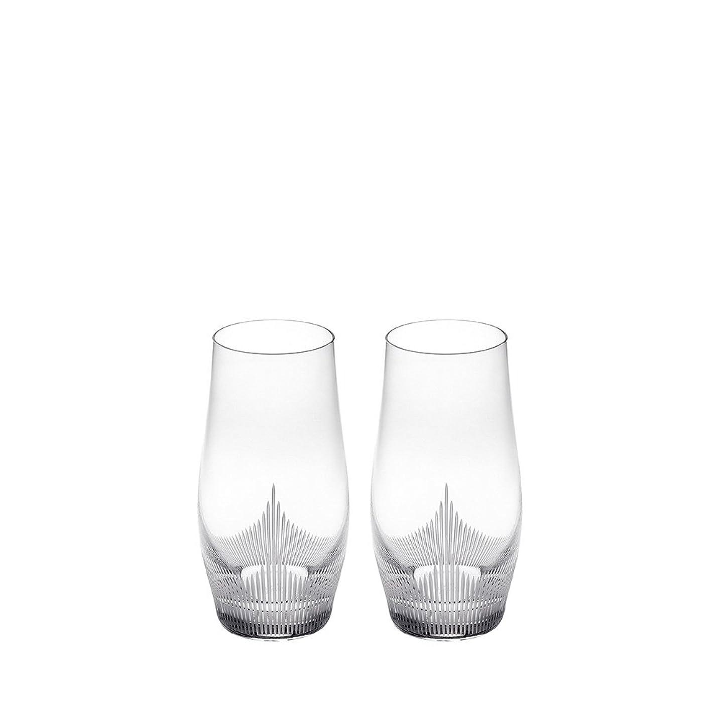 無実奪う報告書Lalique 100?Points Longdrink Tumbler Glasses by James Suckling、ペア
