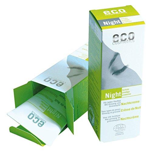 Eco Cosmetics Crème de nuit Grenade et Ginseng 50ml