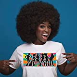 Black Afro Wigs for Women Short Kinky Curly Wig Fluffy and Soft Natural Looking...