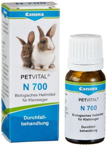 Canina 52070 1 Petvital N 700 10 g Globuli für Nager