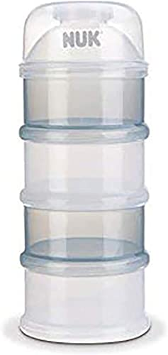NUK Boîte Doseuse à Poudre de Lait, 4 compartiments