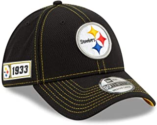 New Era Men`s Pittsburgh Steelers Sideline Road 39Thirty Cap