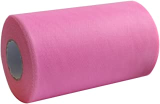 disponible en 3 colores de la marca AmaJoy 0,15 x 91 m Rollo de tela de tul