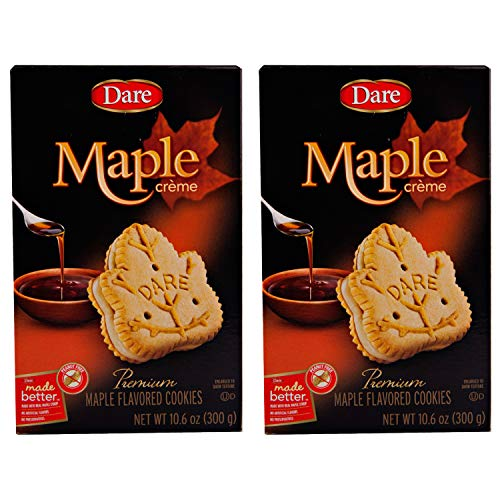 Dare Creme Cookies 10.2 ounce (pack of 2) (maple)