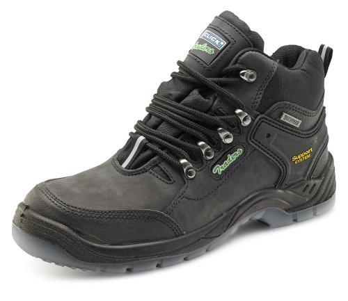 Klik op S3, Heren wandelschoenen, 10 UK, Zwart, 1