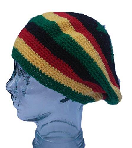Thorness Baggy Rastafarian Rasta Slouchy Beanie Hat
