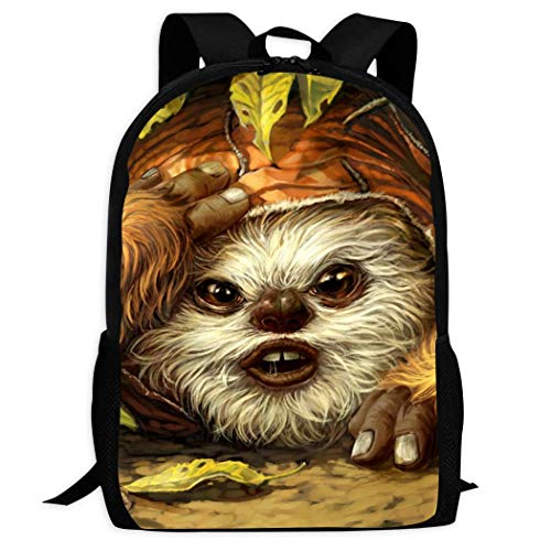 Ewok4 Backpacks Cute Patterns Printed Bag Perfect Size for School and Travel