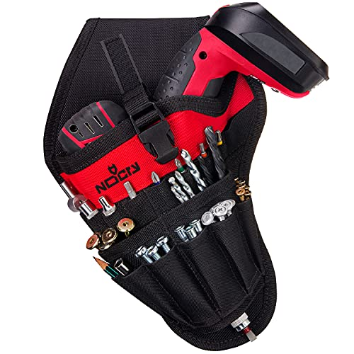 NoCry Left Handed Drill Holster - Balanced Fit for Cordless T-Drills, 17...