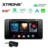 XTRONS Android 10 Car Stereo Radio DVD Player Double...