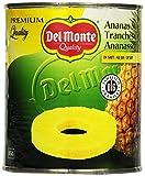 Del Monte Ananas Scheiben in Saft, 6er Pack (6 x 820 g)