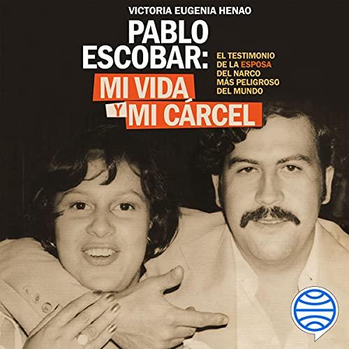 Diseño de la portada del título Mi vida y mi carcel con Pablo Escobar