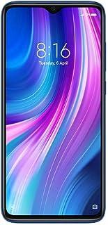 هاتف شاومي ريدمي نوت 8 برو بسعة 128 جيجا وذاكرة رام 6 جيجا من الجيل الرابع ال تي اي بلون ازرق المحيط