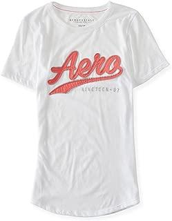 AEROPOSTALE Womens Script Logo Embellished T-Shirt