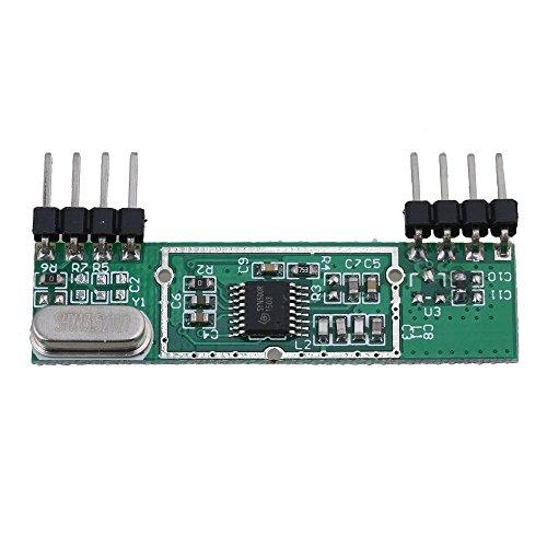 bqlzr dc3V-5.5V Vert superheterodyne 433MHz rxb6RF Module récepteur sans fil