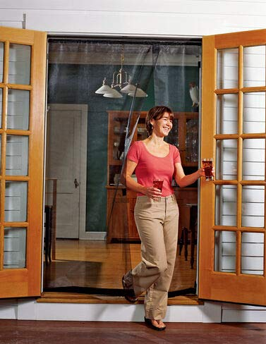 Gardener's Supply Company Reversible French Door Screen, 72'