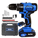 <span class='highlight'><span class='highlight'>ZanGe</span></span> Cordless Drill Screw Driver,21V Powerful 1500mAh Recheageable Battery, 45Nm of Torque w/Variable Speed Trigger, LED Light, 29 Piece Driver Bit Accessories, Carry Case
