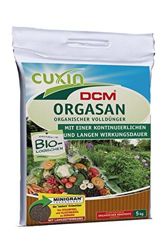 Cuxin organischer Volldünger Orgasan, 5 kg