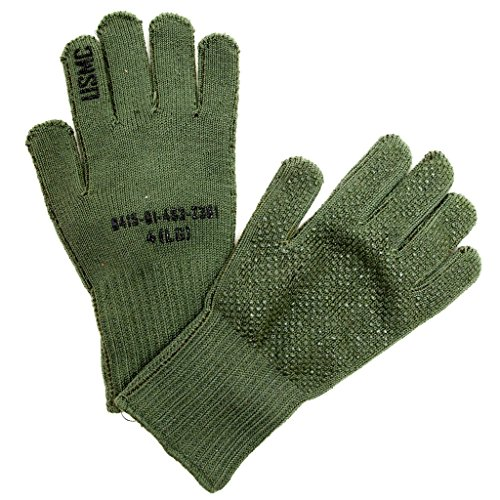 Mejor NEW US Army USMC Military GI Coyote Brown CW Gloves Liner Insert X-Large XL crítica 2020