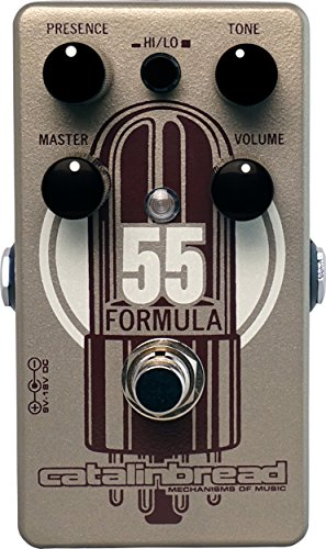 Catalinbread Formula No. 55 Foundation Overdrive Guitar Effects Pedal