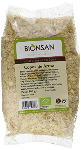 Bionsan Copos de Arroz Ecológicos - 6 Bolsas de 500 gr -...