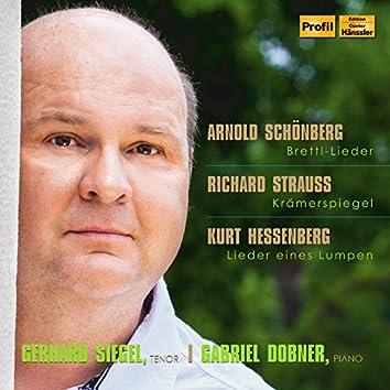Schoenberg, R. Strauss & Hessenberg: Lieder