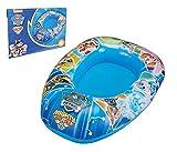 Smart Planet Canotto gonfiabile per bambini – Paw Patrol gonfiabile – 80 x 54 x 22 cm – barca a tubo per bambini – Piedino in gomma per bambini – aiuto per il nuoto