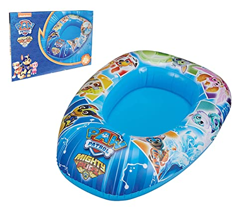 Smart Planet Canotto gonfiabile per bambini – Paw Patrol gonfiabile – 80 x 54 x 22 cm – barca...