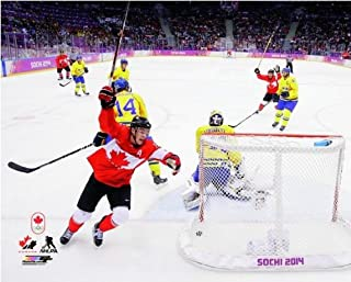 Jonathan Toews Team Canada 2014 Winter Olympics Gold Medal Game Goal Photo (Size: 8