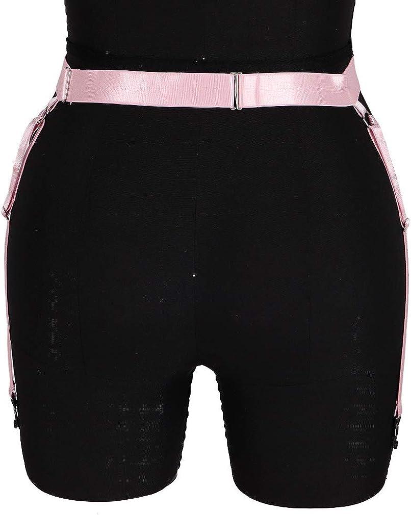 Gartere Waist Belt Women's Body Harness Lingerie cage Punk Leg Strap Stretchy Fabric Plus Size Festival Rave