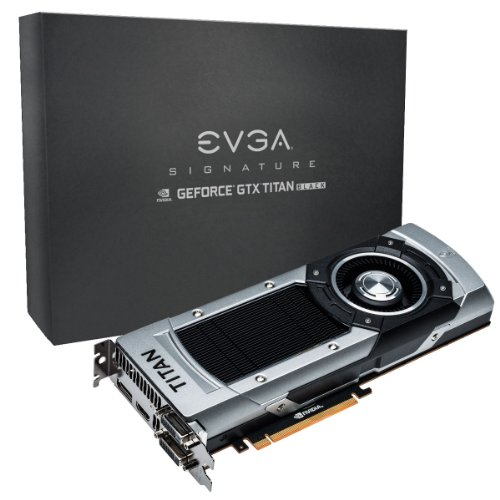 EVGA GeForce GTX TITAN BLACK Superclocked Signature 06G-P4-3793-KR