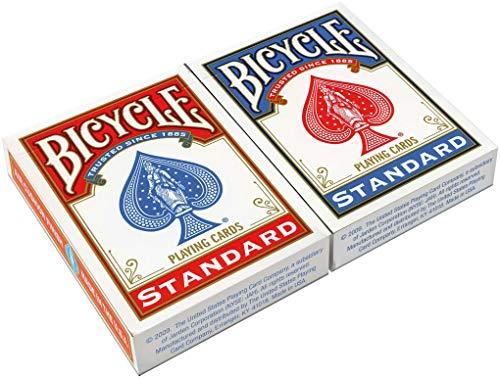 Bicycle- Rider Back Standard Index 2 Pack 2 Jeu de Cartes de