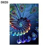 5D Diamond Gemälde Full Kits DIY Handmade Strass Stickerei Kreuzstich Set Mosaik Home Room Dekoration Persisch Flower, D020, 30cm x 40cm