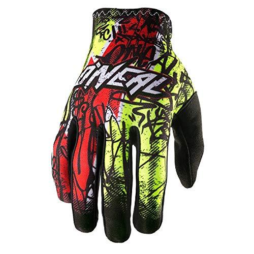 O'neal Matrix MX DH FR Handschuhe Vandal grün/rot 2017 Oneal: Größe: M (8,5)