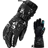 Best Ski Gloves - O'Brighton Ski Gloves for Men Women (L) Review