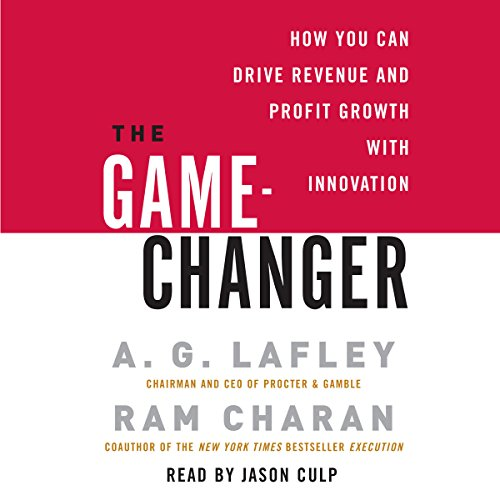 The Game-Changer audiobook cover art