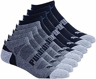 Puma Mens No show Sport Socks, Moisture Control, Arch...