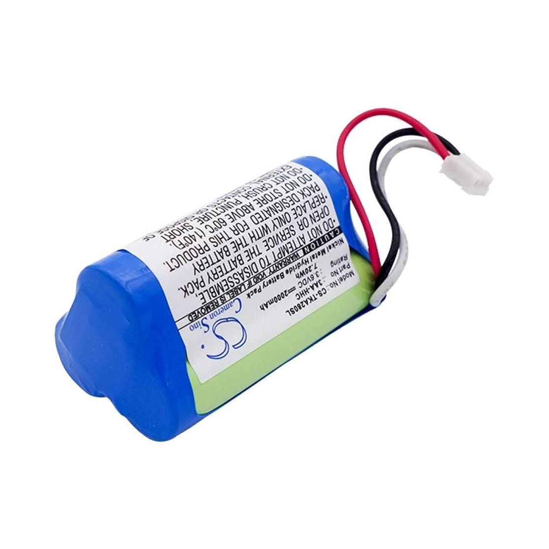 線形三十電報TDK TREK Flex A28 MBT2E8 の 3AA-HHC YU10230-14001 AA2000 交換 バッテリー Bluetoothスピーカー 【ロワジャパン】