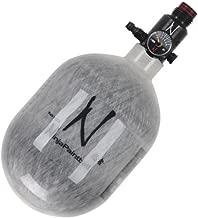 Ninja Grey Ghost Carbon Fiber Air Tank w/ Adjustable Regulator - 50/4500
