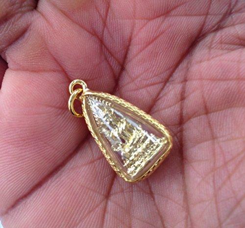 Tailandés amuleto regalo Amistad colgante Protección de la suerte Bendecido por Miracle Monjes (02)