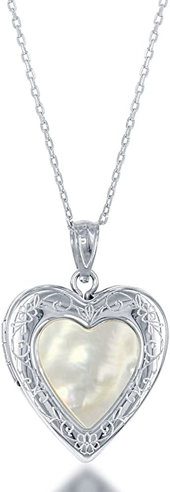 Sterling Manufacturer regenerated product Popular brand Silver Mother of Pearl 18