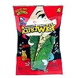 SELECO Seaweed Snacks | Seasoned Sandwich with Almond & Sesame / Asian Snacks - Korean Snacks - Sushi Nori - Seaweed Chips - Seaweed Snack - Korean Food - Kombu - Healthy Thins (Pack of 3)