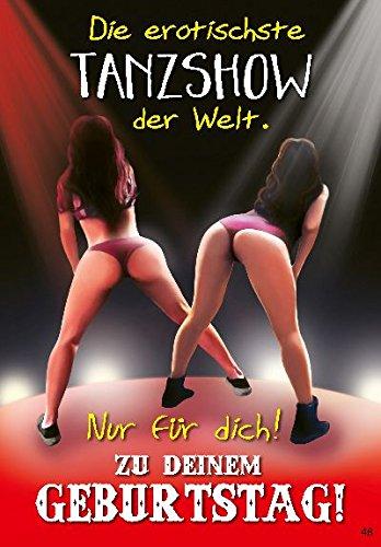 Musikkarten Geburtstag Sound Karte mit Überraschung 048 Die erotischste Tanzshow der Welt! Nur.