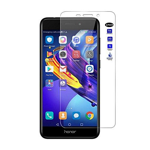 XMTN Huawei Honor 6C Pro,Huawei Honor V9 Play 5.2' Pellicola Protettiva,Ultra Resistente Durezza 9H Vetro Temperato Protezione Schermo per Huawei Honor 6C Pro,Huawei Honor V9 Play Smartphone (1 Pack)