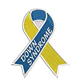 Down Syndrome Blue...image