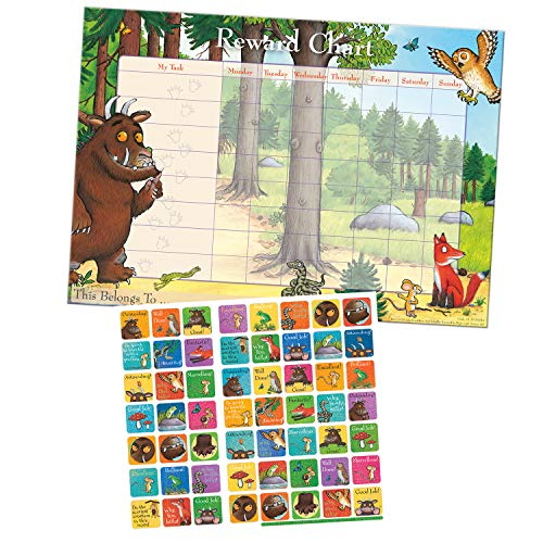 Paper Projects 01.70.30.016 The Gruffalo Reward Chart and Stickers