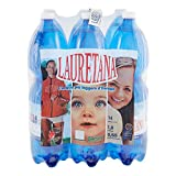 Lauretana Acqua Minerale Naturale - 6 x 1.5 L